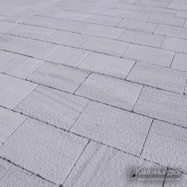 Мрамор белое небо 20х40 см