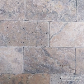 Травертин  Silver Travertine Tumbled
