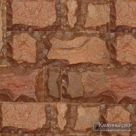 Плитняк обожженный плитка кратная пяти - скол