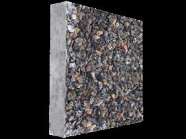 """Тротуарная плитка """"Квадрат"""", гранитная крошка. 400*400, толщина 5 см. Бетонный квадрат декорированный гранитной крошкой."""