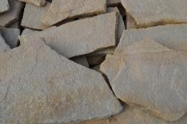 Песчаник дикий (природный) 2 см зеленый