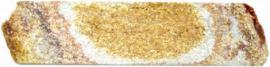 """Гнейс болгарский золотистый соломка """"5"""", """"7"""" природная длина. Высота нарезки 5 см и 7 см."""