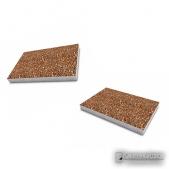 """Тротуарная плитка """"Прямоугольник"""" , галька. 600*400, толщина 5 см. Бетонный прямоугольник, декорированный галькой .етонный"""