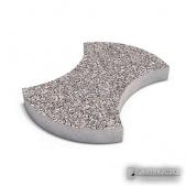 """Тротуарная плитка """"Омега"""", гранитная крошка.Толщина 5 см. Бетонная плитка, декорированная гранитной крошкой."""