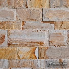 Сланец болгарский кирпичик скол (Гнейс) Персик 5 см, 7,5 см, 10 см х св. длина